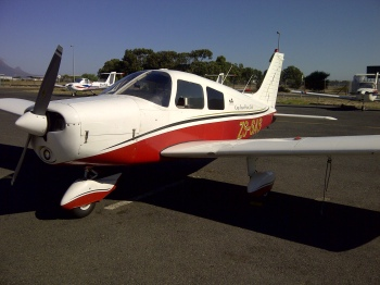 The plane I use at the Cape Town Flying Club